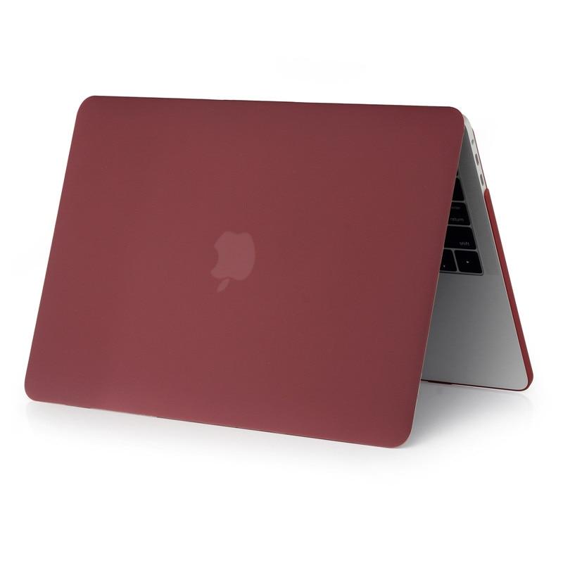 Apple macbook üçün dondurulmuş mat rəngli noutbuk qutusu 11 12 - Noutbuklar üçün aksesuarlar - Fotoqrafiya 4