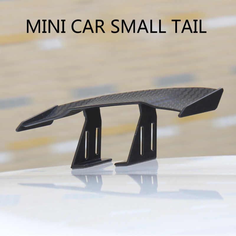 רכב זנב כנף ספוילר מיני אוטומטי קישוט עבור פולקסווגן פולו פאסאט B6 BMW F10 F30 E60 פורד פוקוס 2 3 פיאסטה