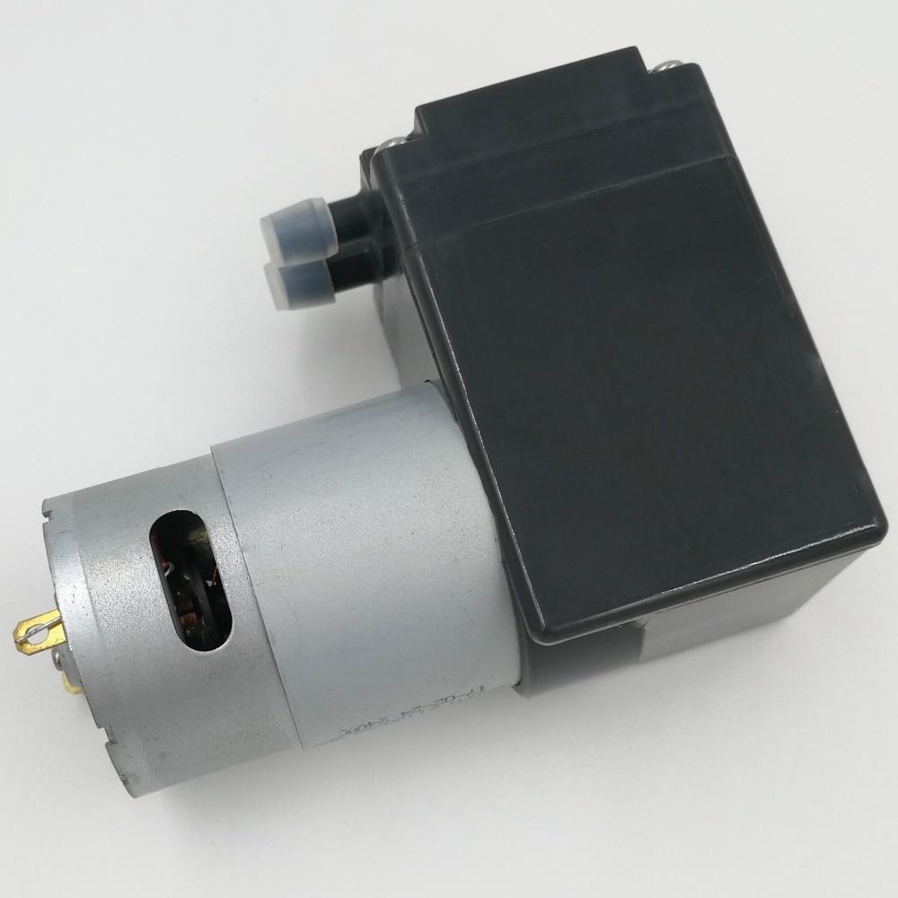 8l/m flow 12V dc electric diaphragm quiet brush pump for air