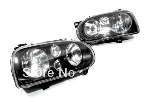 MK4 Style Smoke Headlight For VW Volkswagen Golf MK3
