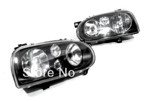 MK4 Style Smoke Headlight For VW Volkswagen Golf MK3