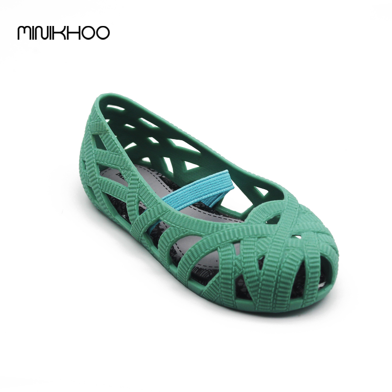88006a4ce507 Mini Melissa Sandals 2017 Jelly Shoes Mini Waterproof Sandals Girls ...