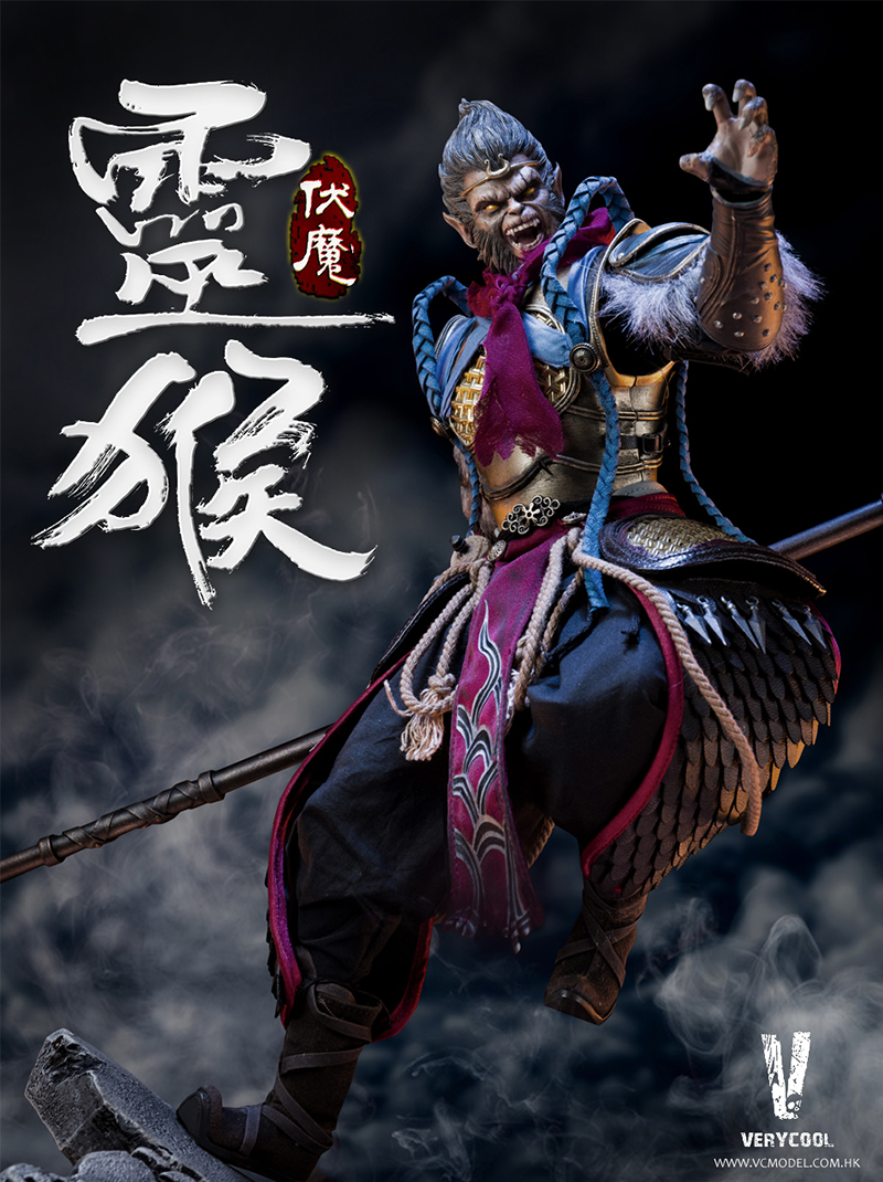 VERYCOOL  DZS-005 1/6 Dou Zhan Shen Series Monkey King  Action Figures Full Set doll toy Colletible with box 1