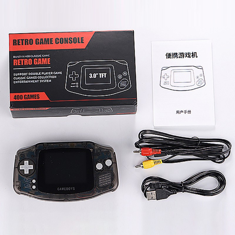 Nostalgic Retro Handheld Game Console Single Double People Game Console For Nintendo Game Multiple Colors Available