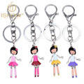 Couple keychain porte clef fourrure key chain key rings for friendship key chains cubre llaves best friends llavero jewelry 2016