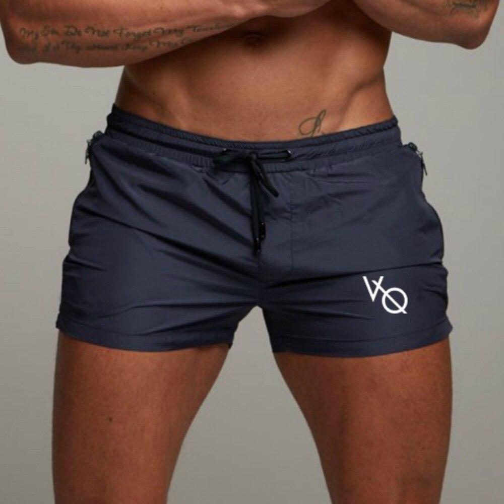 ZOGAA 2019 Mens Summer Fitness   Shorts   Sports Running Beach   Shorts   Siwmwear Geometric Printed Casual Men   Shorts   Plus Size S-4XL