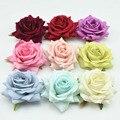 Fashion 8 Colors Women Ladies Rose Flower Hairpin Fashion Brooch Hair Clip Wedding Headdress Headwear hair clip
