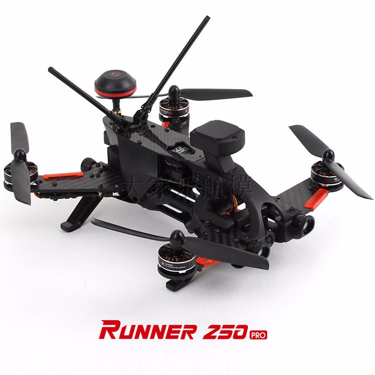 Walkera Runner 250 PRO GPS Racer Drone RC Quadrocopter 800TVL 1080P HD Camera OSD DEVO 7 Transmtter FPV RC Racing Drone F19561/4 original walkera devo f12e fpv 12ch rc transimitter 5 8g 32ch telemetry with lcd screen for walkera tali h500 muticopter drone