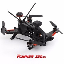 Drone RC Quadcopter Walkera Runner 250 GPS PRO Racer 800TVL 1080 P HD Cámara OSD FPV RC Racing Drone DEVO 7 Transmtter F19561/4