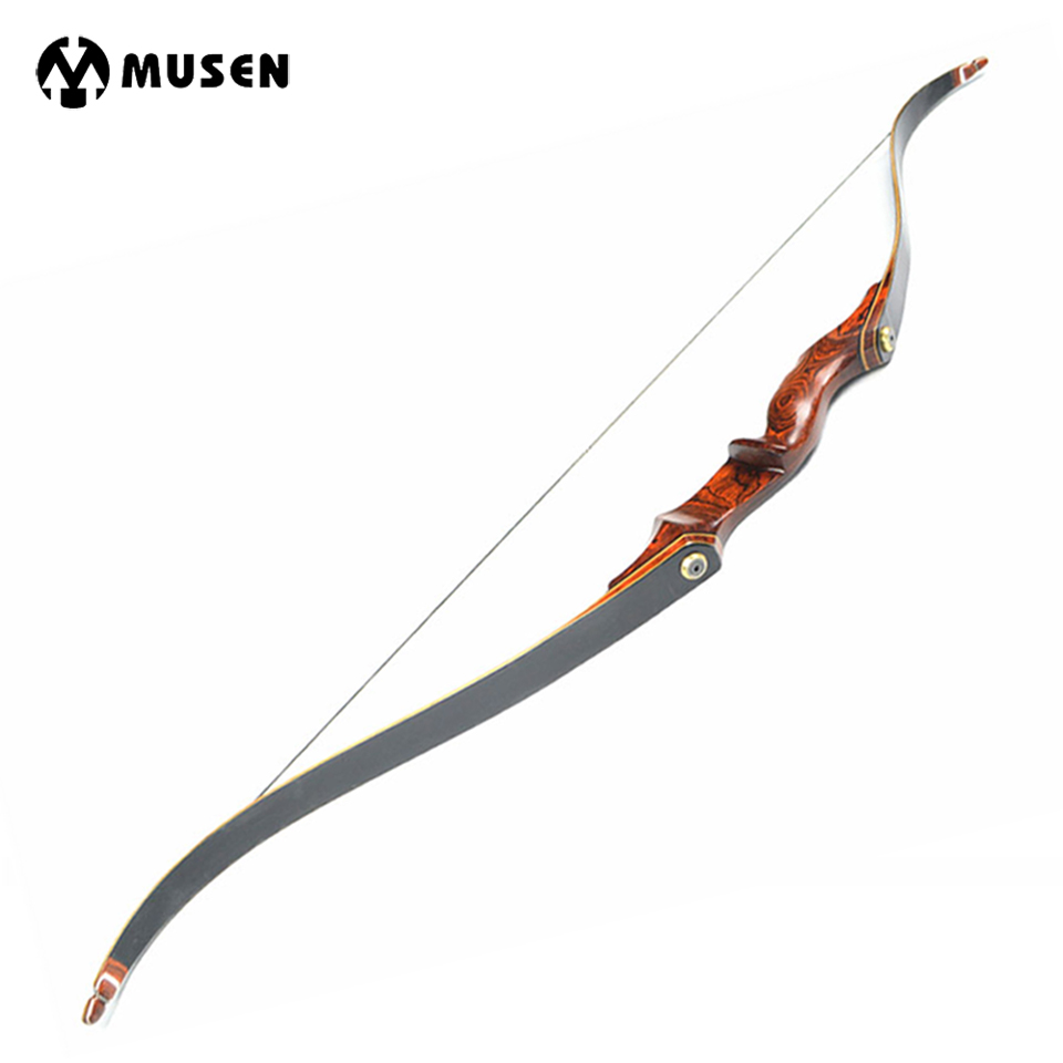 American Hunting Recurve Bow Length 58 Inches 25-55 LBS Wooden Handle for Outdoor Archery Bow Hunting Shooting 54 inch recurve bow american hunting bow 30 50 lbs for archery outdoor sport hunting practice