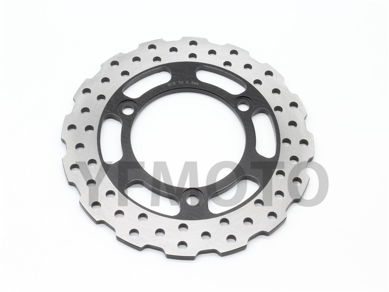 Hot Sales Motorcycle Rear Brake Disc Rotor For Kawasaki Ninja 250R 250 R  2008 2009 2010 2011 2012  Free Shipping 1 pcs motorcycle rear brake disc rotor for tmax500 tmax 500 2008 2009 2010 2011 2012 2013 red free shipping