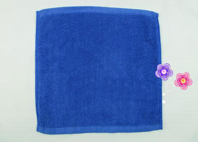 Freeshipping 10pcs 30 30cm Good Quality Face Towel Small Hand Towels Kitchen Hotel Cotton