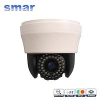 CCTV 4 Inch Mini Speed Dome PTZ Camera 480TVL 700TVL Indoor IR Camera 10X Zoom Surveillance
