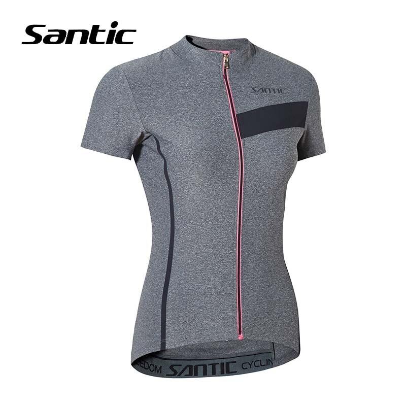 Santic été à manches courtes route VTT Jersey femmes cyclisme Jersey Maillot Ciclismo vélo vêtements vêtements Jersey 2018