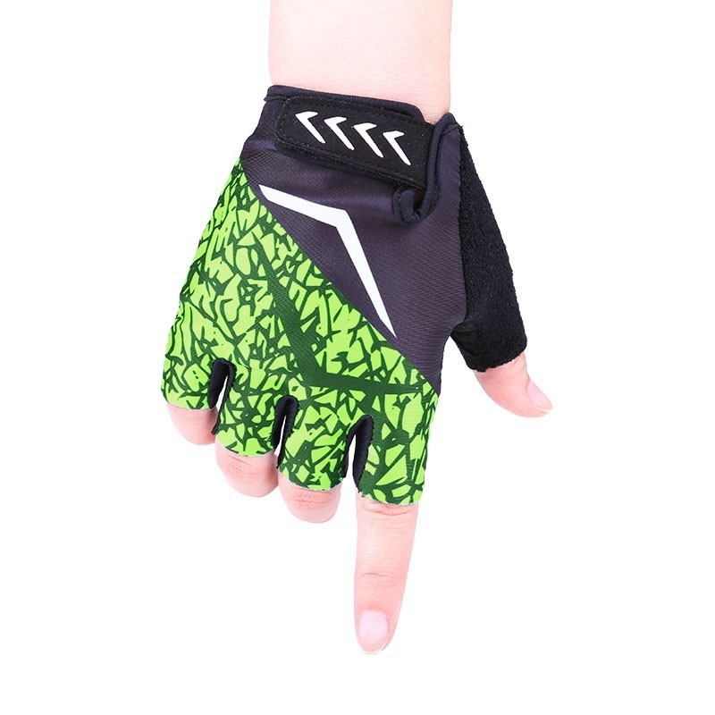 Galleria fotografica Pro Brand New Cycling Gloves Half Finger Men Women Summer MTB Sports Weightlifting Gym Fitness Non-slip Gel Pad Soft Breathable
