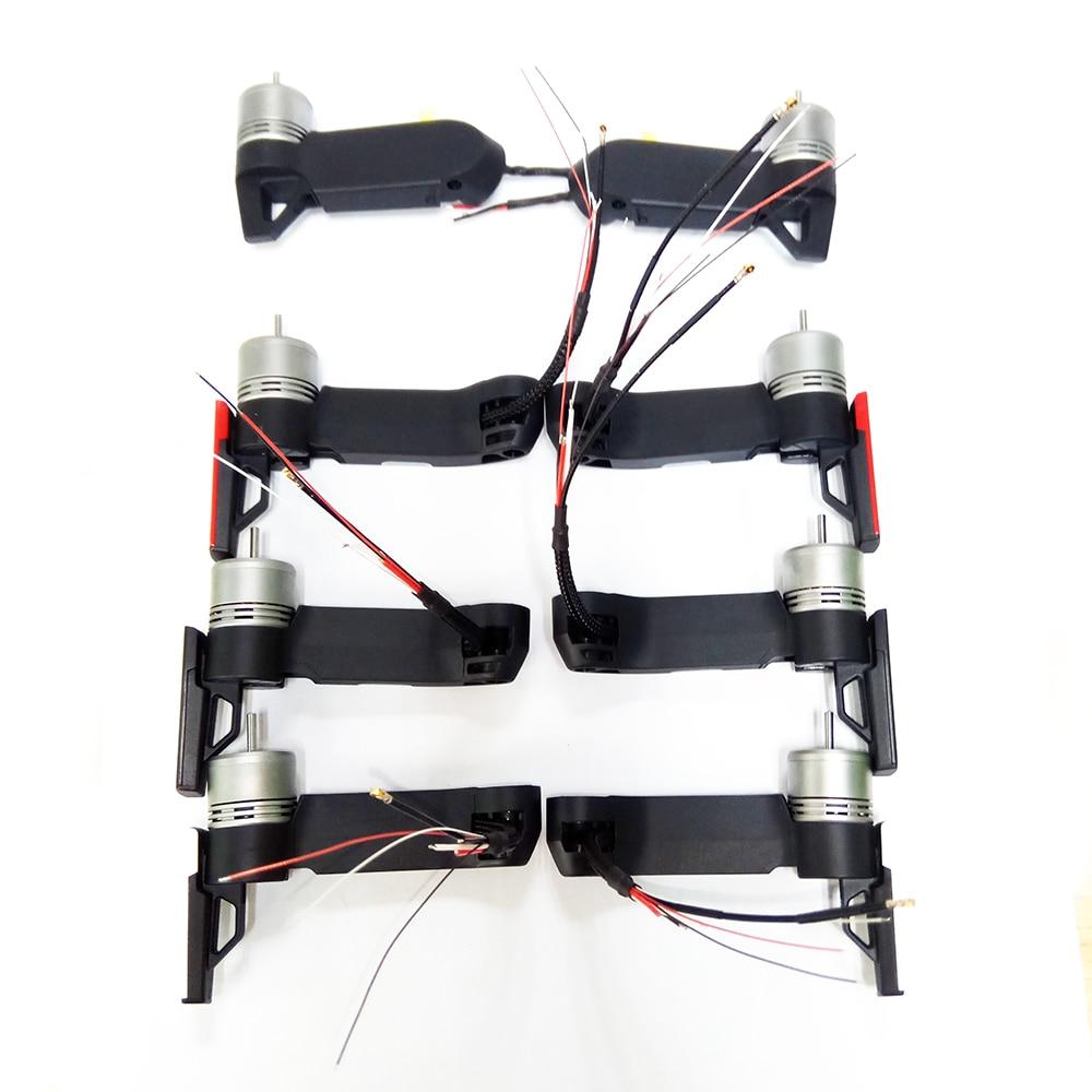 En stock reemplazo original Mavic aire brazo con motor repuestos DJI Mavic motor de aire reparación brazo accesorios rojo blanco negro
