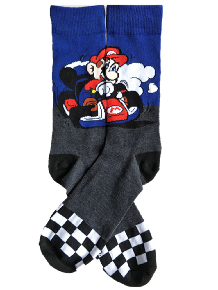 2018 Fashion Cartoon Mario Men's Socks