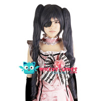 Synthetic Wig Black Butler Ciel Phantomhive Female Edition 80cm Cosplay Wig