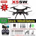SYMA X5SW/X5SW-1 WI-FI RC Drone Мультикоптер с 6-осевой FPV Камеры Без Головы Реального Времени Вертолет Quad вертолет Toys