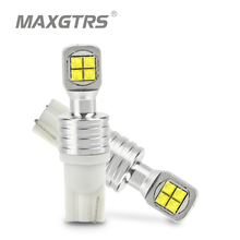 2x T10 W5W194 168 LED CREE Chip Car lamps Turn Signal License Plate Light Trunk Clearance Lights Reading lamp White Red Amber