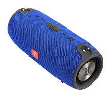 Портативный Bluetooth Динамик Беспроводной бас Колонка Водонепроницаемый открытый Динамик Поддержка AUX TF USB Сабвуфер стерео звук Динамик