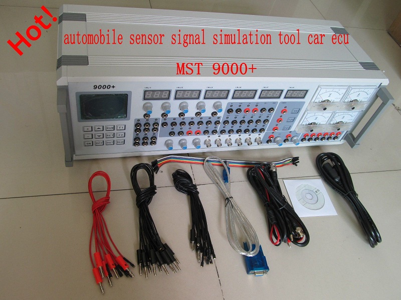 2012v automobile sensor signal simulation tool mst 9000+ mst9000 ecu repair tool ecu tester 110v+220v in stock DHL fast free