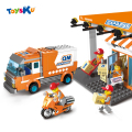 Express Delivery  Truck City Series Assemble Building Blocks Children Educational Blocks Toys