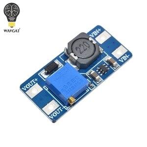 Image 2 - WAVGAT 5 pièces MT3608 DC DC convertisseur amplificateur Module dalimentation Booster carte de sortie MAX 28V 2A pour Arduino