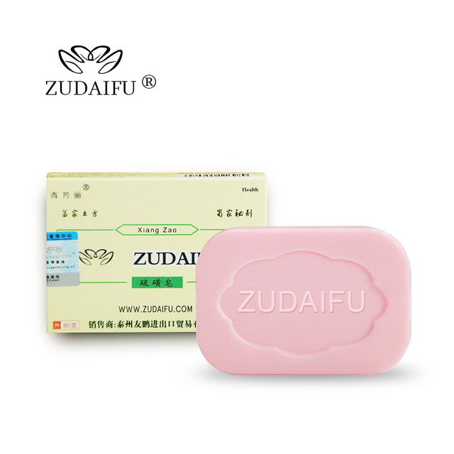 Cheapest zudaifu Sulfur Soap Skin Conditions Acne Psoriasis Seborrhea Eczema Anti Fungus Bath Healthy Soaps Eczema Zudaifu Soap 2