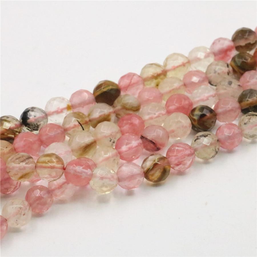 Multicolored Stone Beads Tourmaline