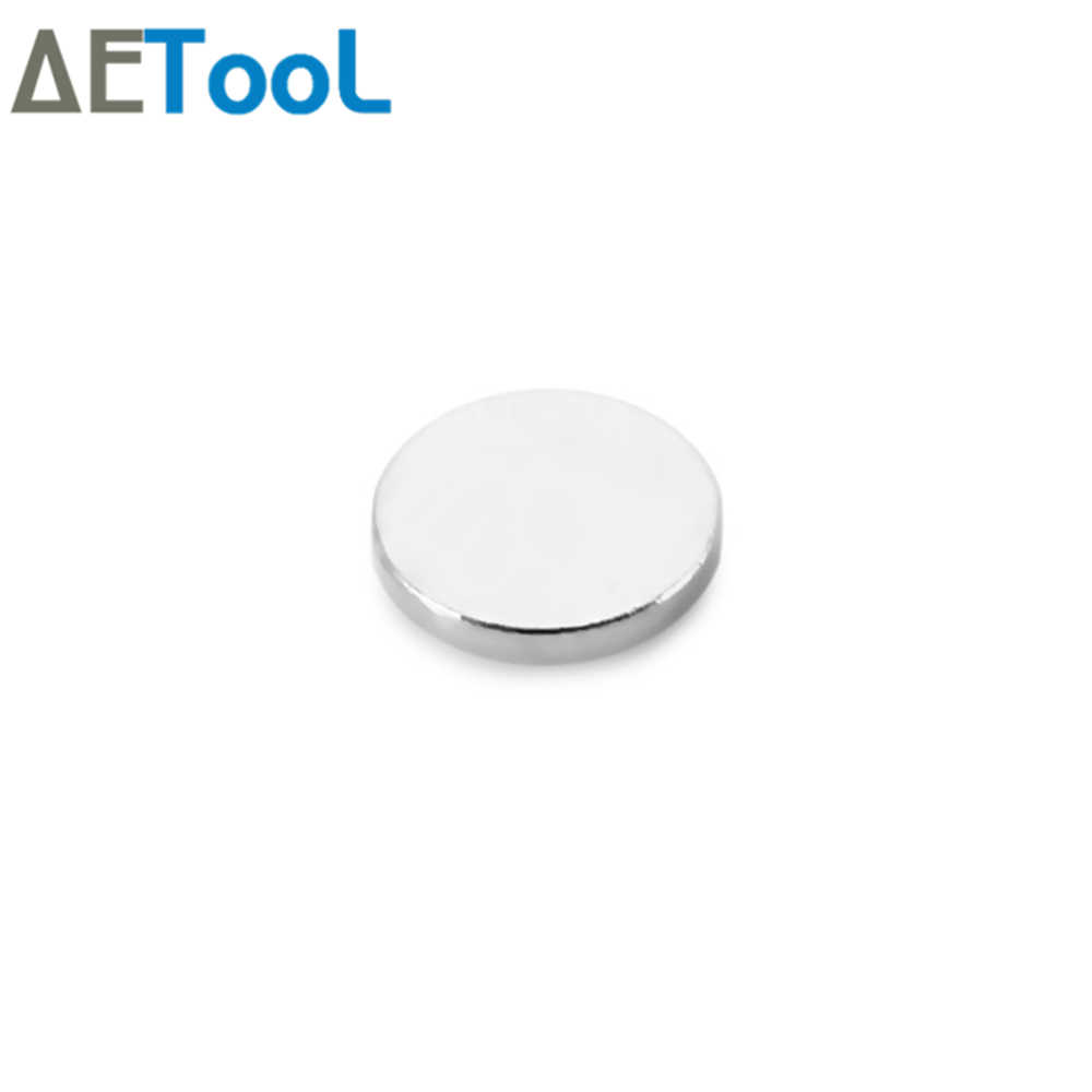 Aecool 5/10/20/30/40/50/100 peça n52 10 mm x 1 mm ímãs redondos fortes diâmetro 10x1mm ímã de neodímio ímã de terras raras 10*1mm