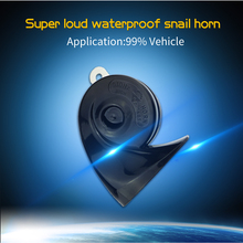 JINGZUAN 2017 New Arrival Patent Super Loud Snail Car Horn High Quality 12V Waterproof 125DB 2PC FOR Mazda ONLY