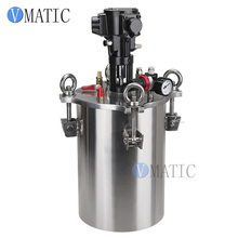 Tanque de presión de dispensación de pegamento de presión de aire de acero inoxidable de mezcla neumática envío gratis/contenedor de presión