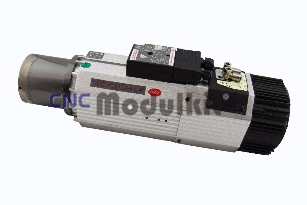 milling machine spindle motor