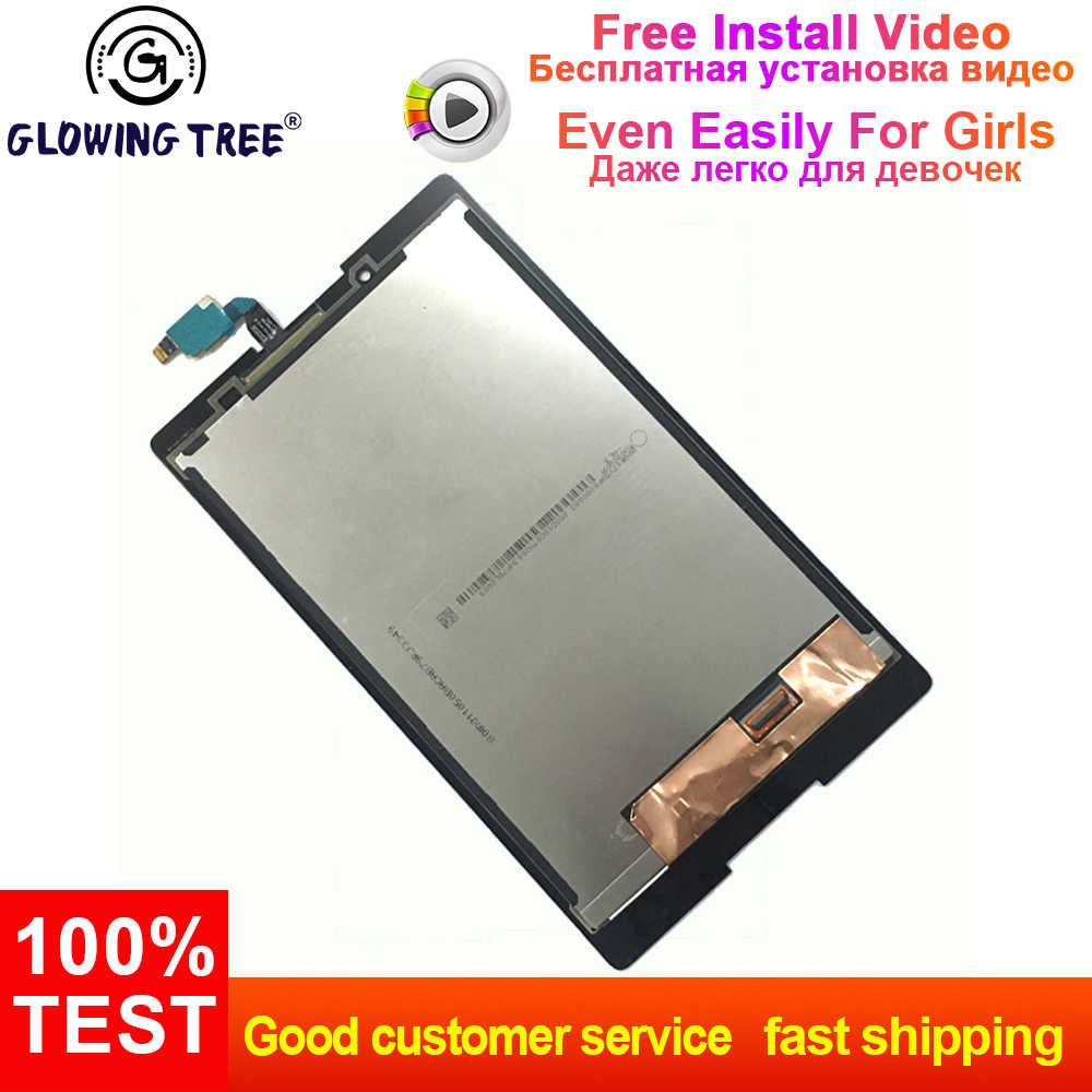 レノボタブ 2 A8-50F A8-50LC A8-50 タッチスクリーンデジタイザ + 液晶ディスプレイアセンブリ部品交換 100% テスト