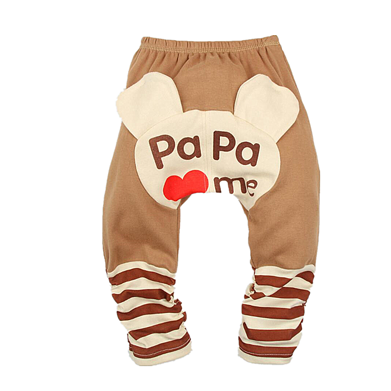 Anlencool 2018 New Baby Boy Pants Baby Leggings Girls PP Pants Cotton Trousers Kids Wear For Autumn Spring Children Clothing
