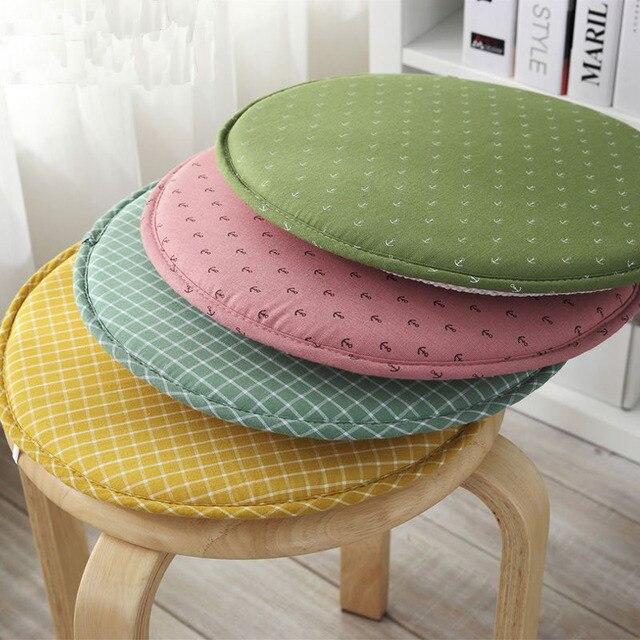 Japan Stil Dekorative Rund Plaid Anker Gedruckte Taboret Sitzkissen Stuhl  Barhocker Kissen Wohnkultur Liefert
