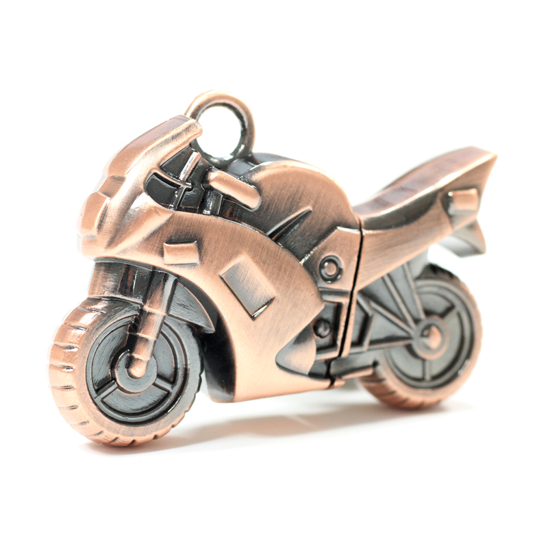 Mode Motorfiets Metalen Usb Flash Drive Pendrive 1 TB 2 TB Memory Stick 64 GB 128 GB Jongen Gift Usb Creativo Pen Drive 32 GB H2testw
