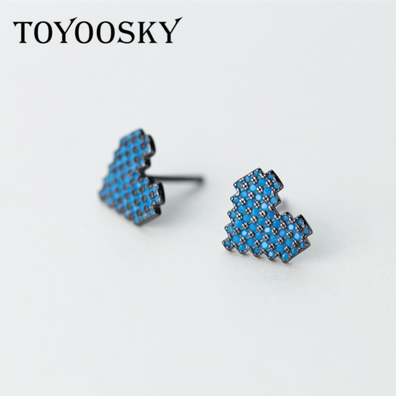 925 Sterling Silver Stud...