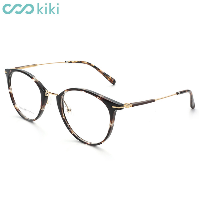 c863dc8f09d Kiki 2018 New Eye Glasses Pc Retro Round Frame Women Men Cat Eye