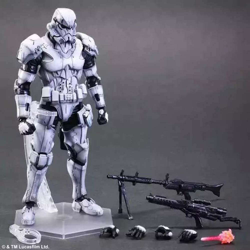 Square Enix VARIANT Play Arts Kai Star Wars Stormtrooper 10 Action figure A57J