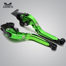 цена на FOR KAWASAKI ZX10R ZX12R ZX 10R 12R 2000 2001 2002 2003 2004 2005 Motorcycle Brake Clutch Levers Adjustable Folding Extendable