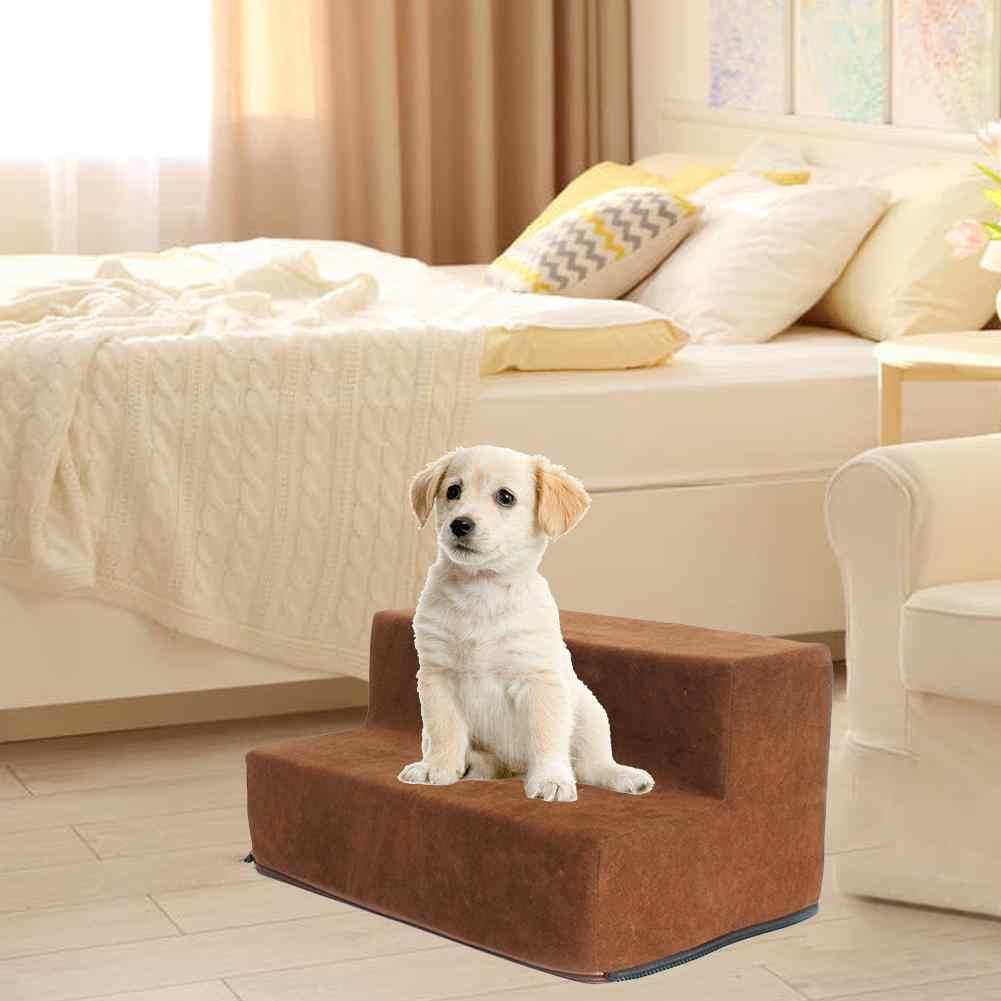 Pet лестничные ступени собаки кота собаки лестницы 2-этажное Лестницы олень бархатные кобура собака слабый собака удобные Лестницы дверь для кота игрушка для домашних животных