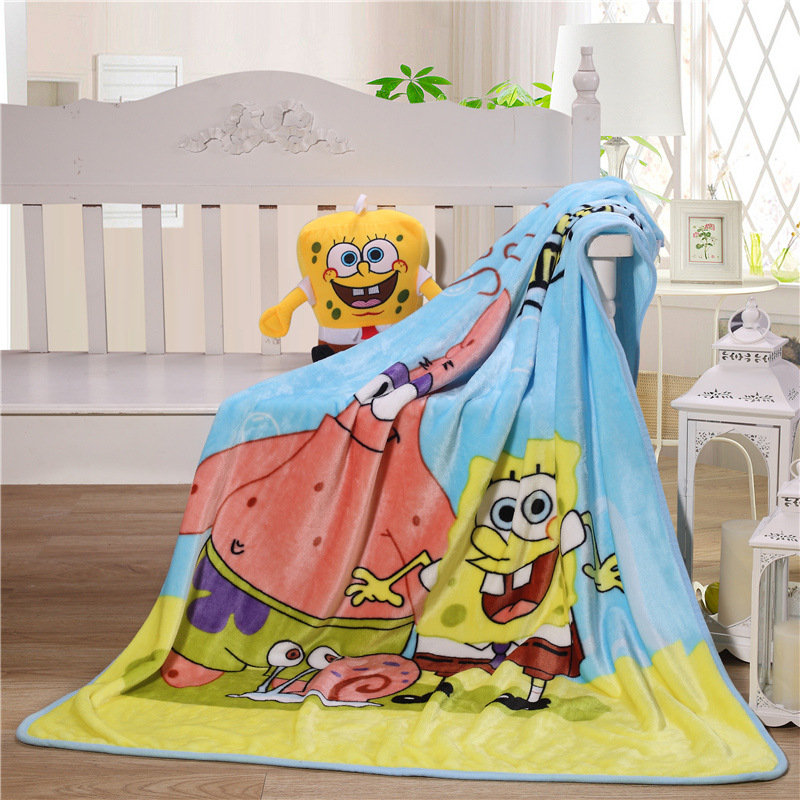 Купить с кэшбэком Bebe Baby Nursing Blanket Sheet Flannel Throw Blanket Coral Fleece Portable Blankie Swaddling Wrap for Strolling 100x140cm