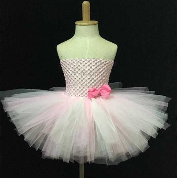 Lovely Baby haak Tutu jurk meisjes handgemaakte 2 lagen pluizige - Kinderkleding