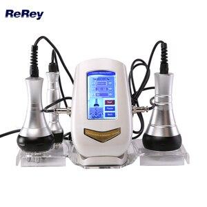 Image 1 - Máquina ultrasónica de cavitación 40K para pérdida de peso, rejuvenecimiento de la piel, RF Multipolar, estiramiento de la piel, antiarrugas, adelgazamiento corporal