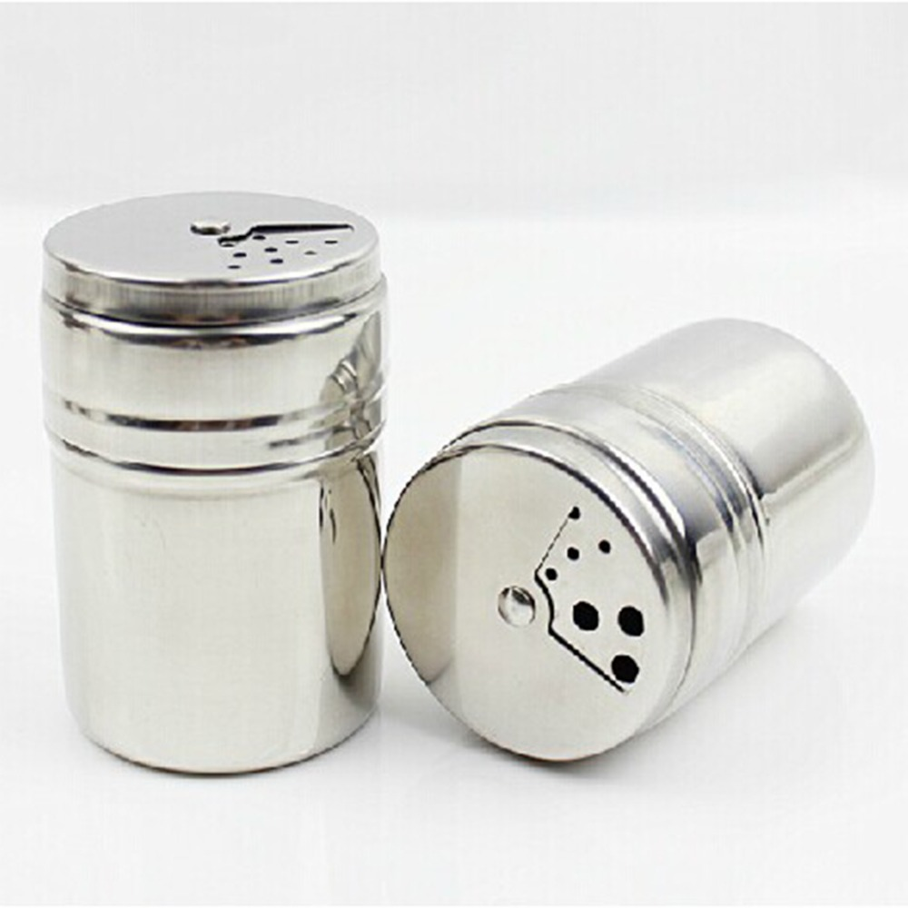online buy wholesale mini salt shakers from china mini salt  - simple mini bottle stainless steel pepper sugar salt pepper shakertoothpick storage bottle(china (