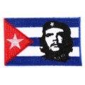 Куба Флаг Страны Одежда Патч DIY Цветущий Скелет Вышитые Патчи Утюг на Ткань Значки Шить на Ткани Аппликация