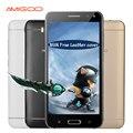 Amigoo x18 5.5 pulgadas original teléfono móvil mtk6580 quad core android 5.1 smartphone 512 mb ram 8 gb rom 5.0mp dual sim