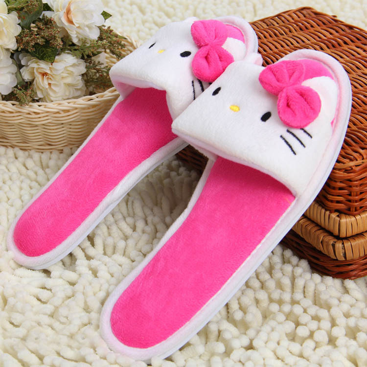 17 sryle Soft Plush Cotton Cute Slippers Shoes Non-Slip Floor ,Indoor House ,Home Furry Slippers Women Shoes For Bedroom women floral home slippers cartoon flower home shoes non slip soft hemp slippers indoor bedroom loves couple floor shoes
